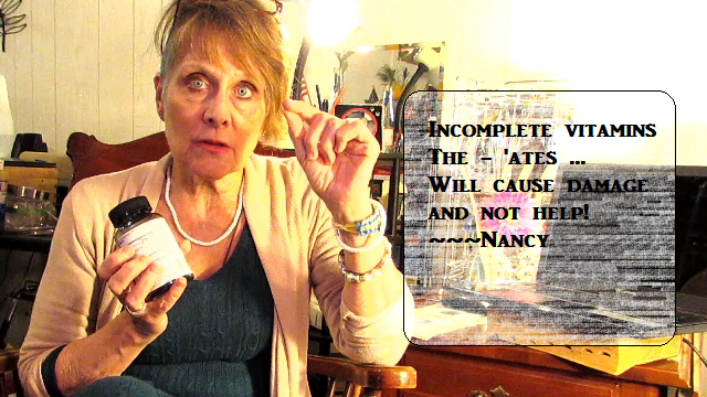 nancy gurish image from her youtube video topic vitamins that are not healthy link to this video