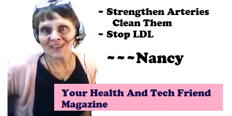 thumbnail image of nancy gurish video strengthen arteries, clean them, stop ldl
